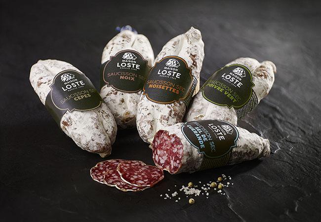 Saucisson sec au sel de Guérande | Maison Loste