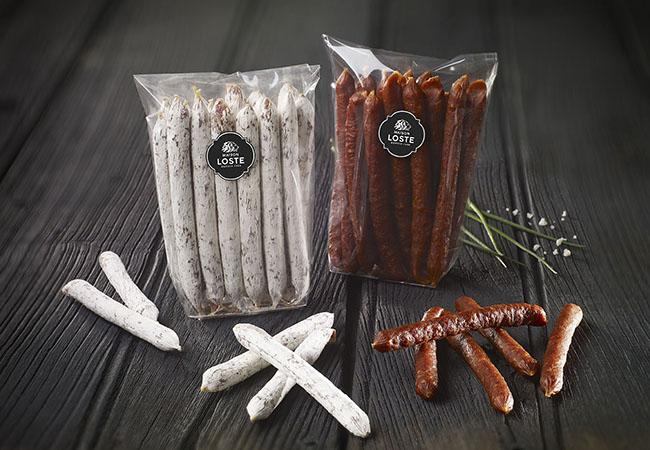 Mini sticks saucisson nature | mini saucissons Maison Loste