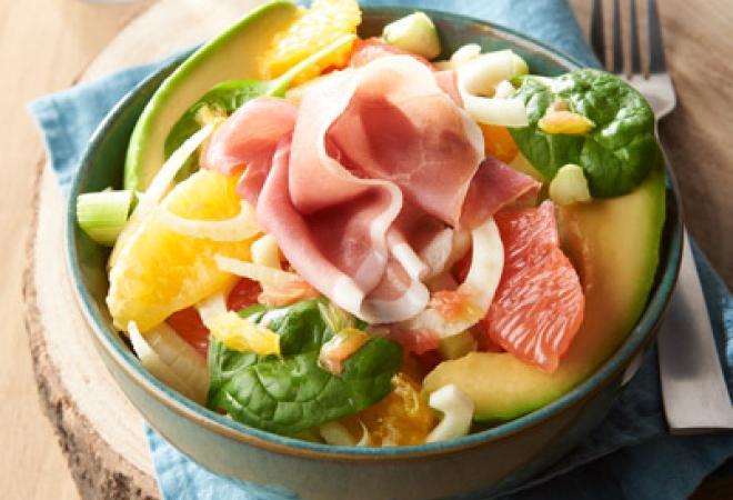 Salade d'automne Maison Loste