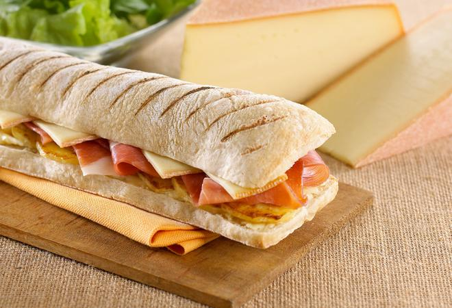 Sandwich montagnard | Recette de cuisine Maison Loste