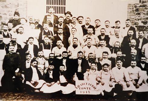 Le personnel Loste en 1913