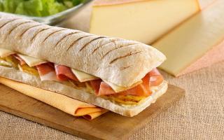 Sandwich montagnard   Recette de cuisine Maison Loste
