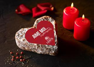 Saucisson coeur saint valentin | Maison Loste