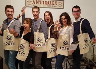 Les gagnants de l'opération de dégustation saucisson et beaujolais Very Good Moment | Maison Loste