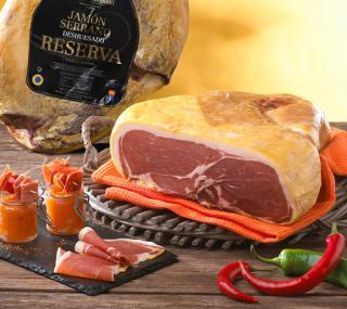 Coeur de jambon sec Serrano | jambon espagnol Maison Loste